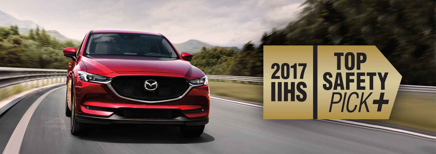 The 2017 Mazda CX-5: An IIHS Top Safety Pick+