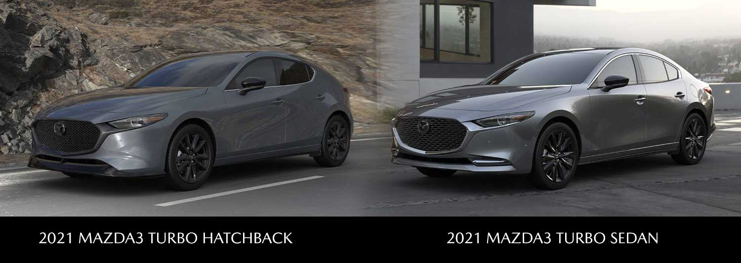 Get Ready For the New 2021 MAZDA3 2.5 TURBO