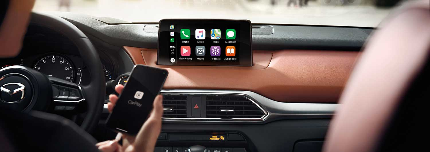 Mazda Retrofit for Apple CarPlay and Android Auto