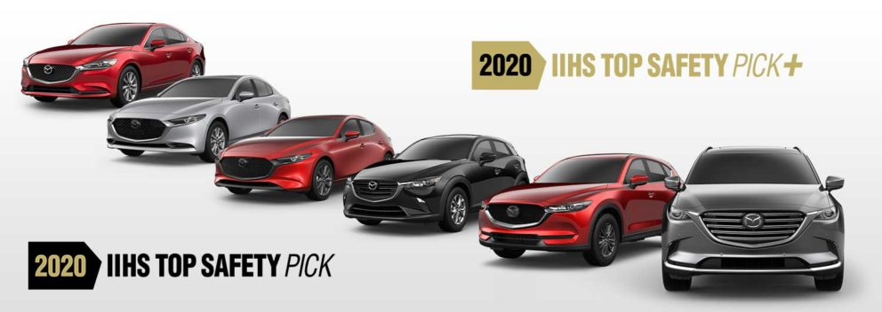 2020 Mazdas Earn Top Safety Ratings
